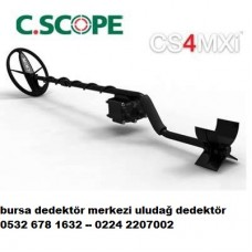 c.scope cs4mx dedektör